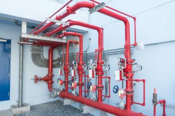 water sprikler fire alarm system